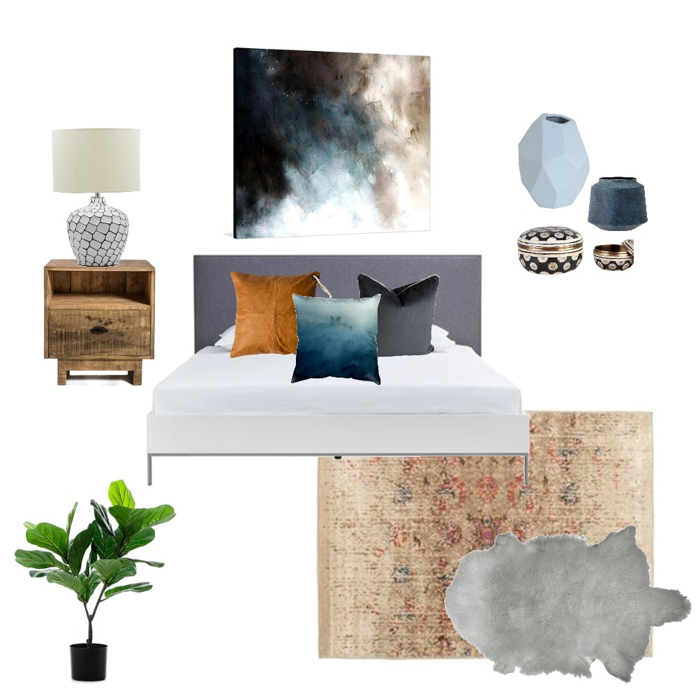 Midnight Blue Mood Board by Melhawley on Style Sourcebook