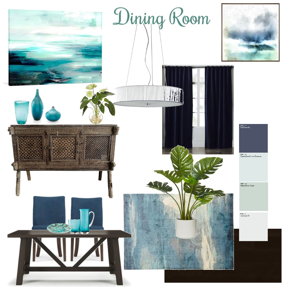 Dining Room Mood Board by yvettescott on Style Sourcebook