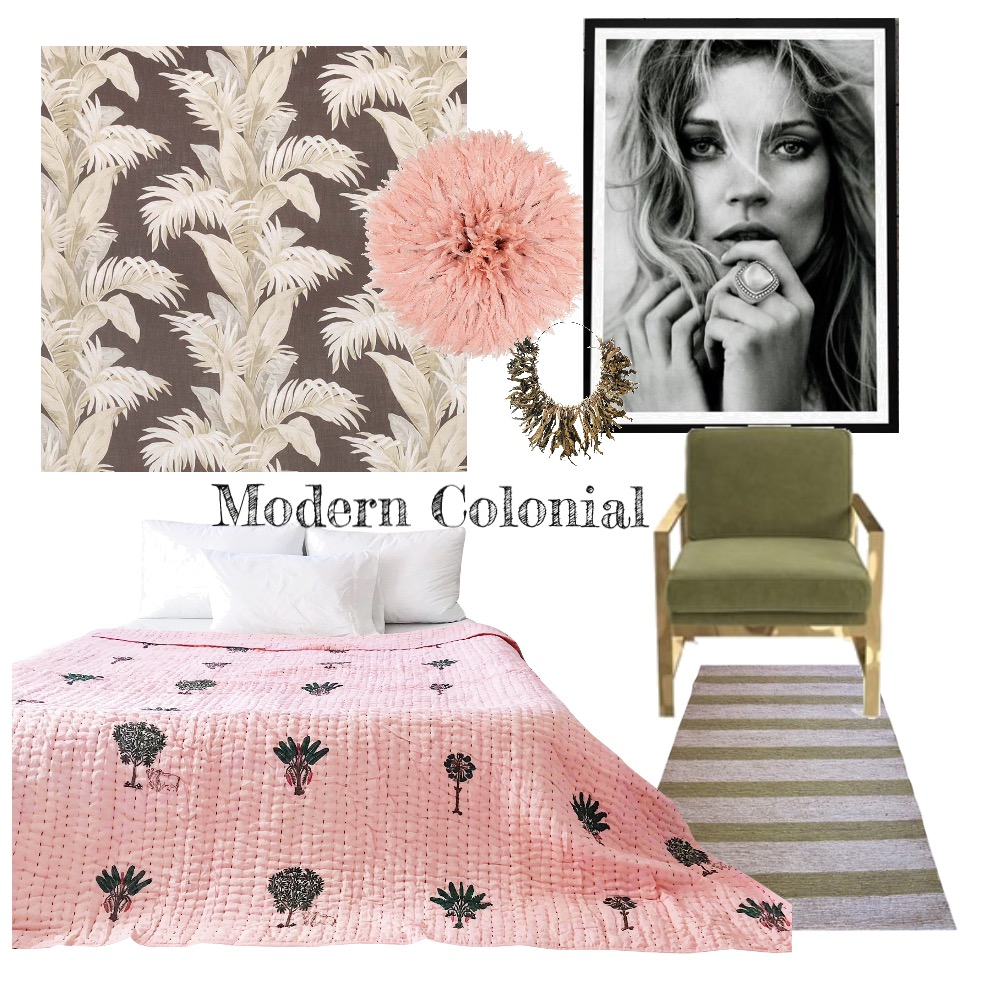 Modern colonial Mood Board by ZsaZsa on Style Sourcebook