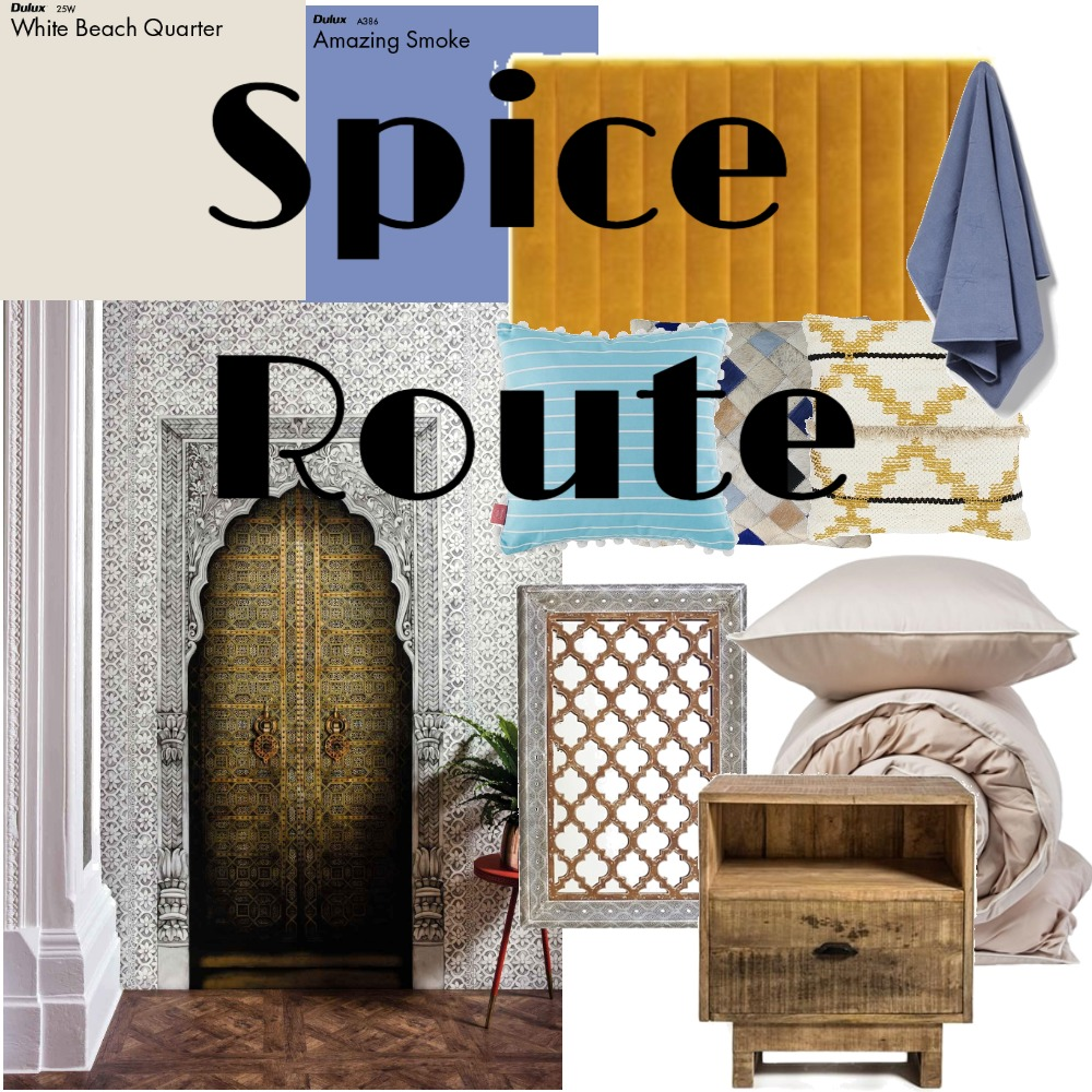 Spice Route Home Mood Board by Lupton Interior Design on Style Sourcebook