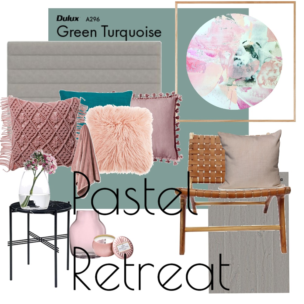 Pastel Bedroom Retreat Mood Board by Lupton Interior Design on Style Sourcebook