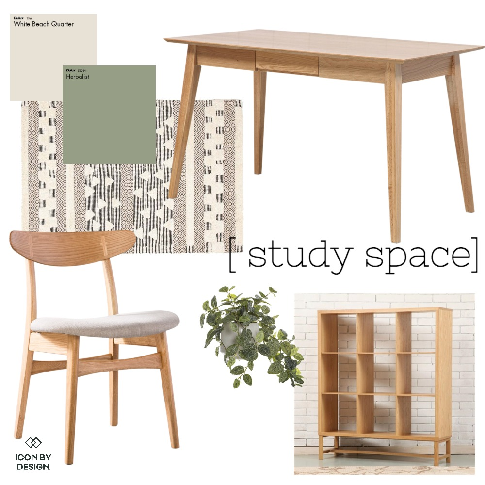 Study Space Mood Board by RachelSelwood on Style Sourcebook