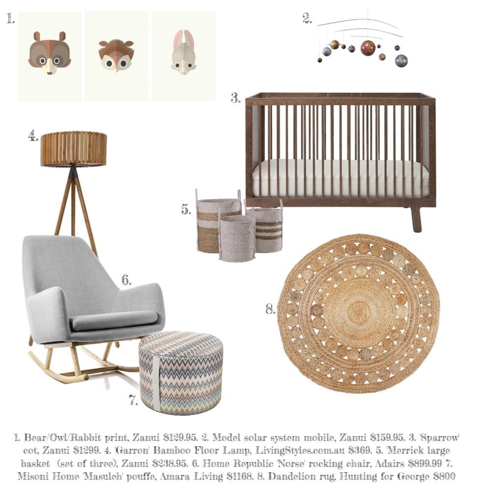 (0) Nursery Mood Board by Atakya on Style Sourcebook