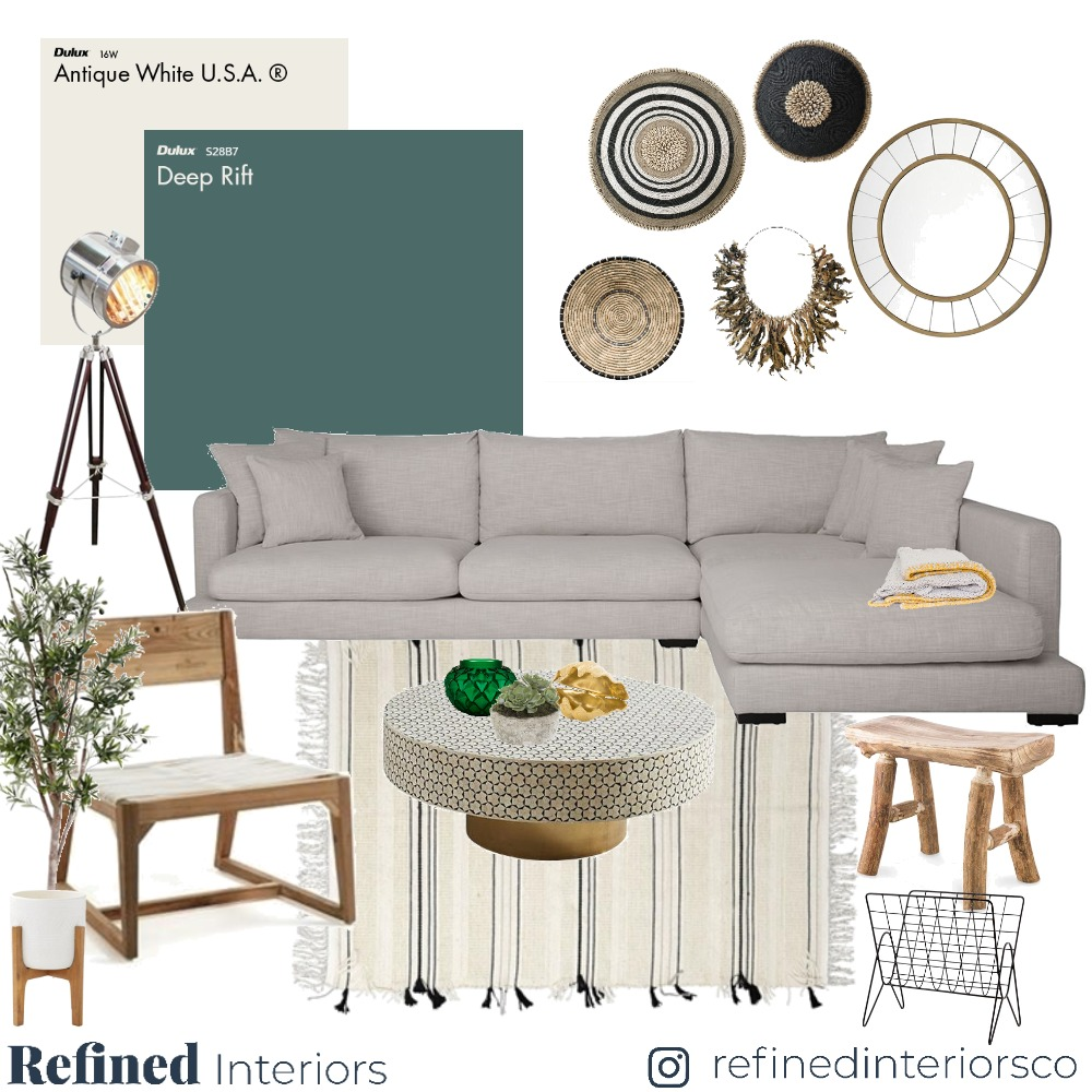Living 04 Mood Board by RefinedInteriors on Style Sourcebook