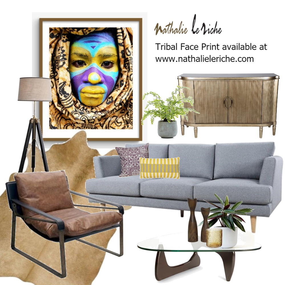 Why Am I Feeling Like This -  by Artist, Nathalie Le Riche Mood Board by NathalieLeRiche on Style Sourcebook