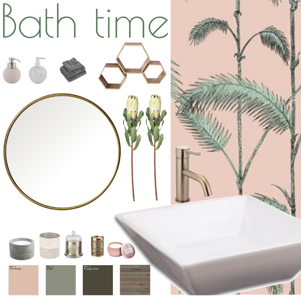 ASSIGNMENT 5 - BATHRROM Mood Board by Madre11 on Style Sourcebook