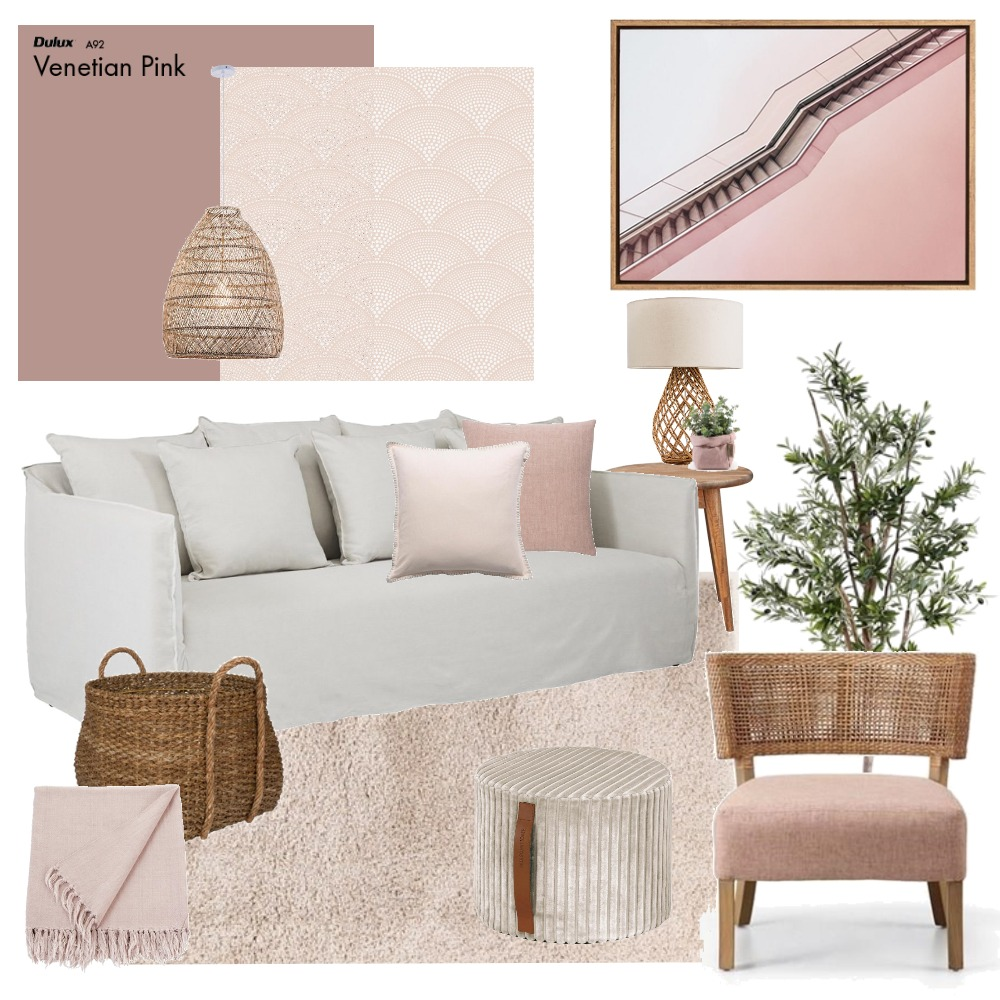 Natural & Blush Mood Board by Thediydecorator on Style Sourcebook