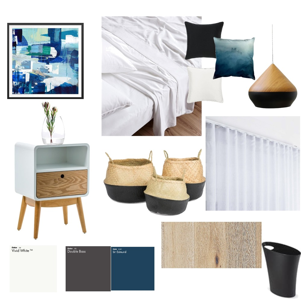minimalist bed room Mood Board by nafisehirani on Style Sourcebook