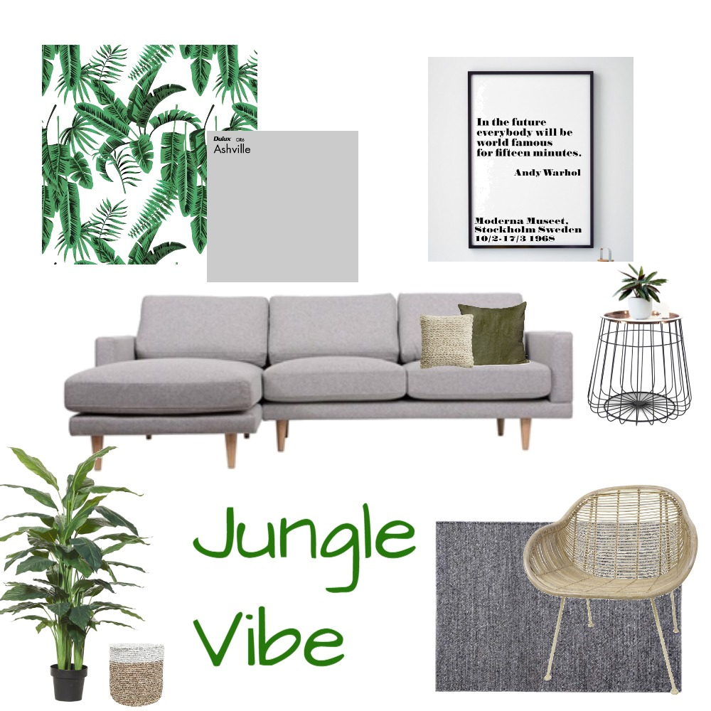 Jungle Vibe Mood Board by Hayleymichelle on Style Sourcebook