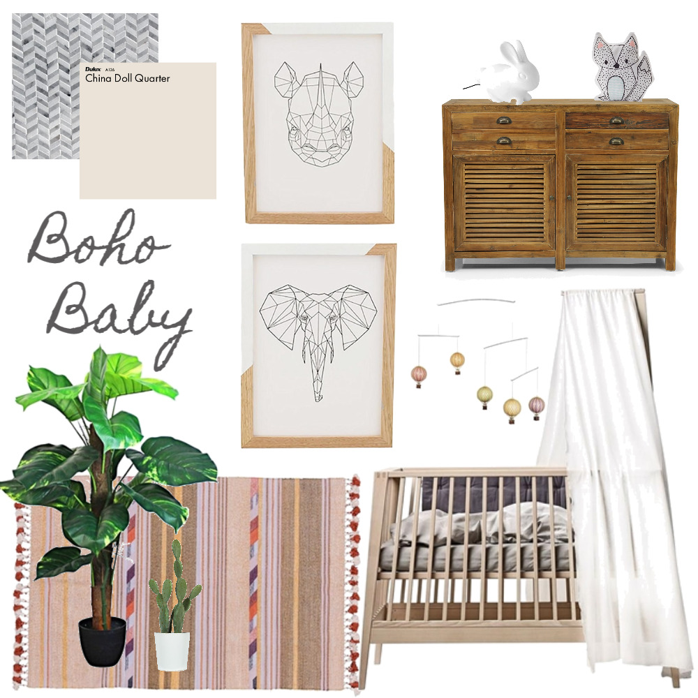 Boho Baby Mood Board by Hayleymichelle on Style Sourcebook