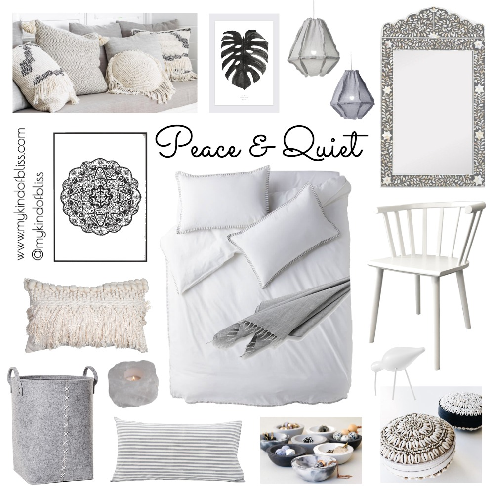 Peace & Quiet Mood Board by My Kind Of Bliss on Style Sourcebook