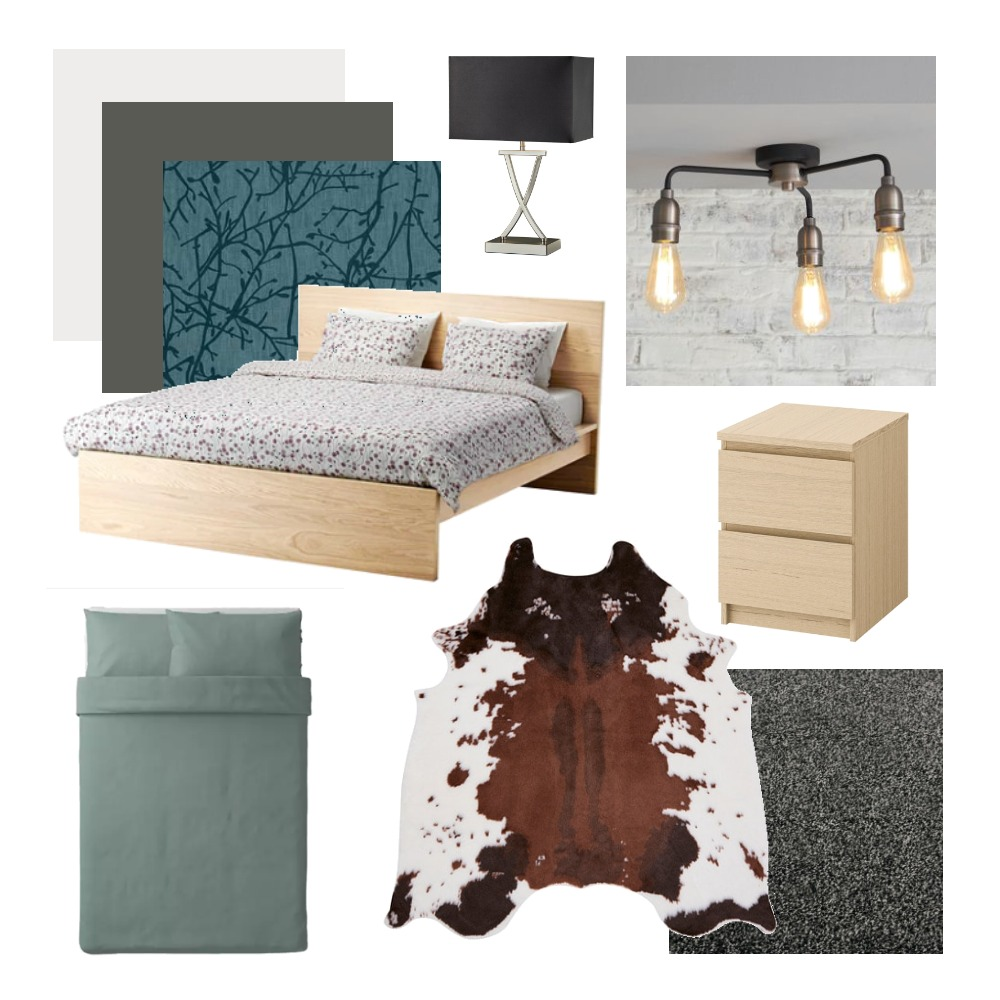 Guest Bedroom Mood Board by anabokova on Style Sourcebook