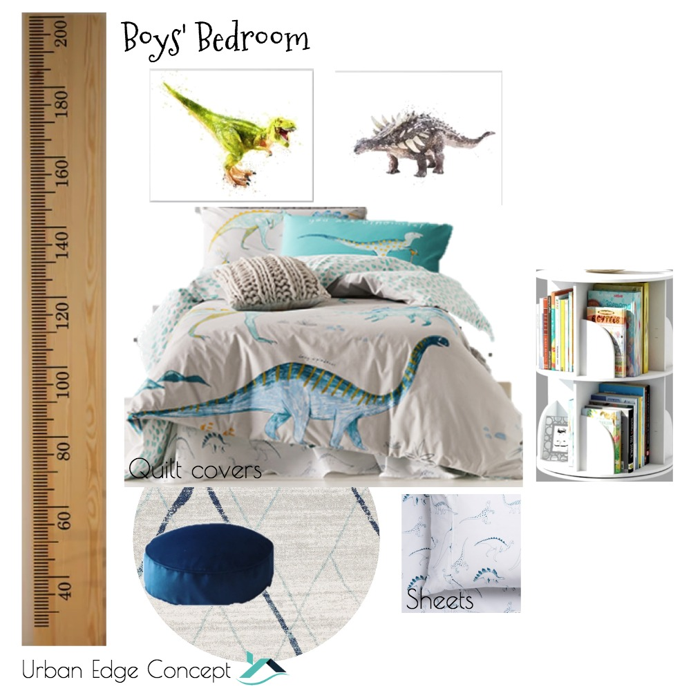 Boys' bedroom Mood Board by OliviaW on Style Sourcebook