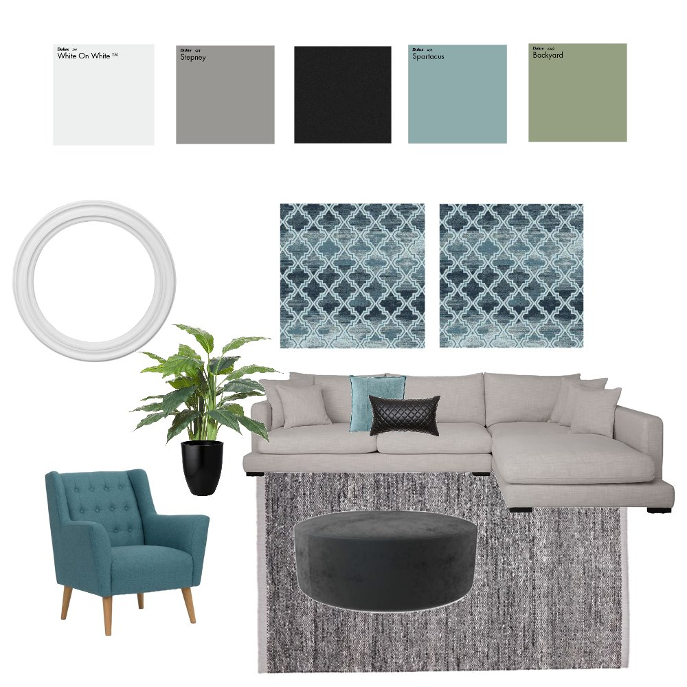 Harper Inspirational Board Mood Board by Neo Interior Design Perth on Style Sourcebook
