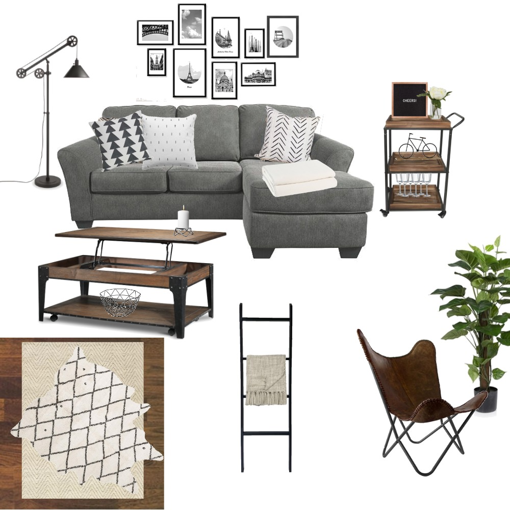 Greenery, Browns, and Wheels- Oh my! Mood Board by torilewi on Style Sourcebook