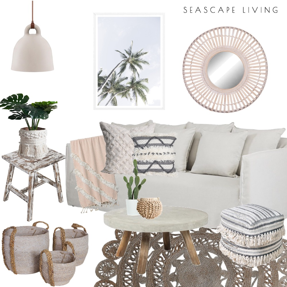 coastal boho Mood Board by Seascape Living on Style Sourcebook