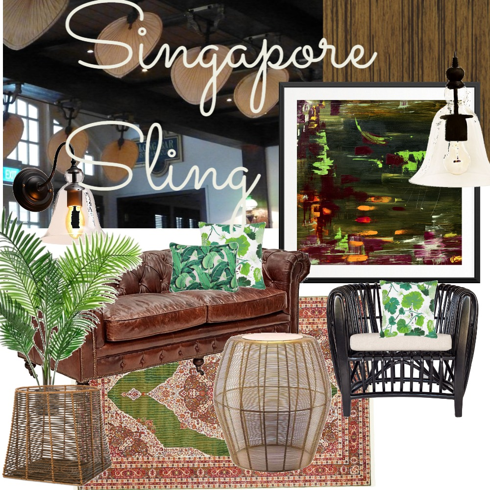 Singapore Sling Mood Board by Lupton Interior Design on Style Sourcebook