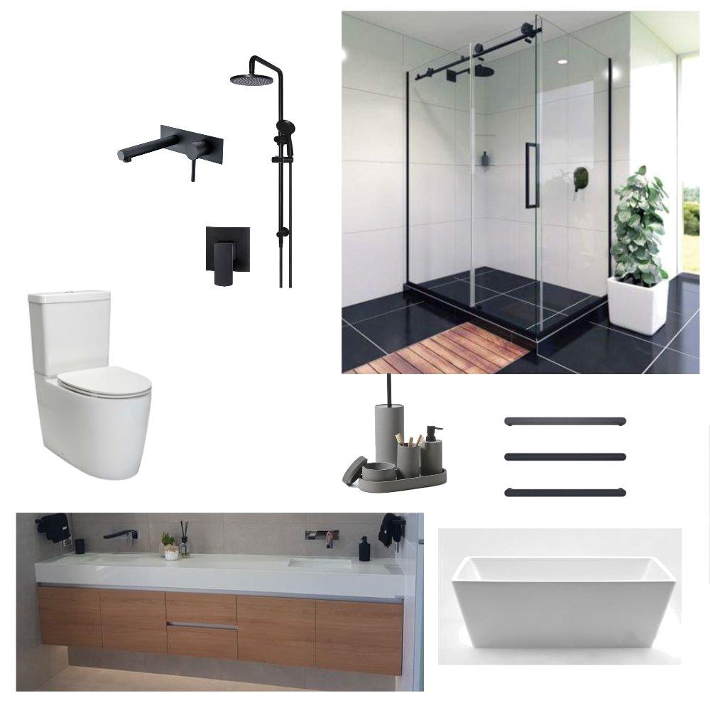 PH Main Bathroom Mood Board by S&S Builders Ltd on Style Sourcebook