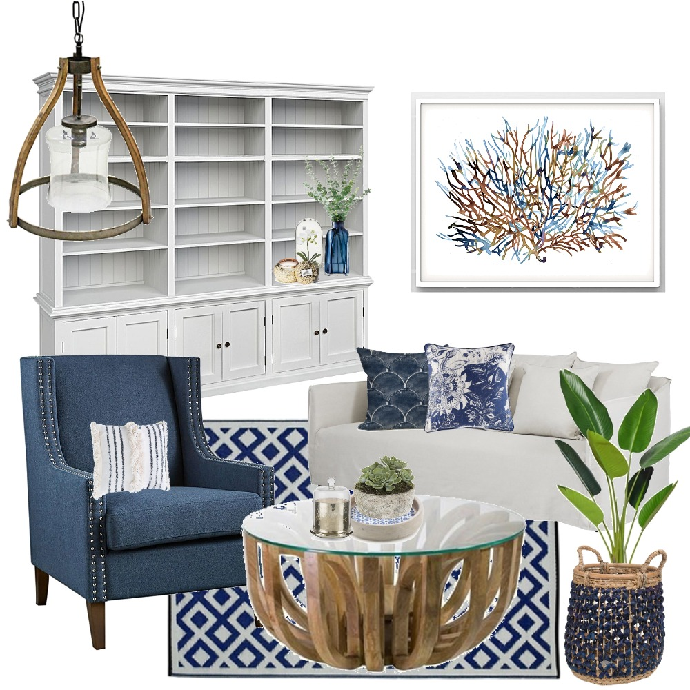 Hampton's Haven Mood Board by Lupton Interior Design on Style Sourcebook