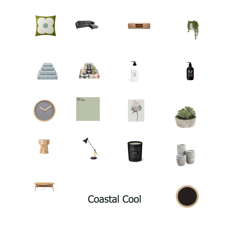 Coastal Cool Mood Board by watermark on Style Sourcebook