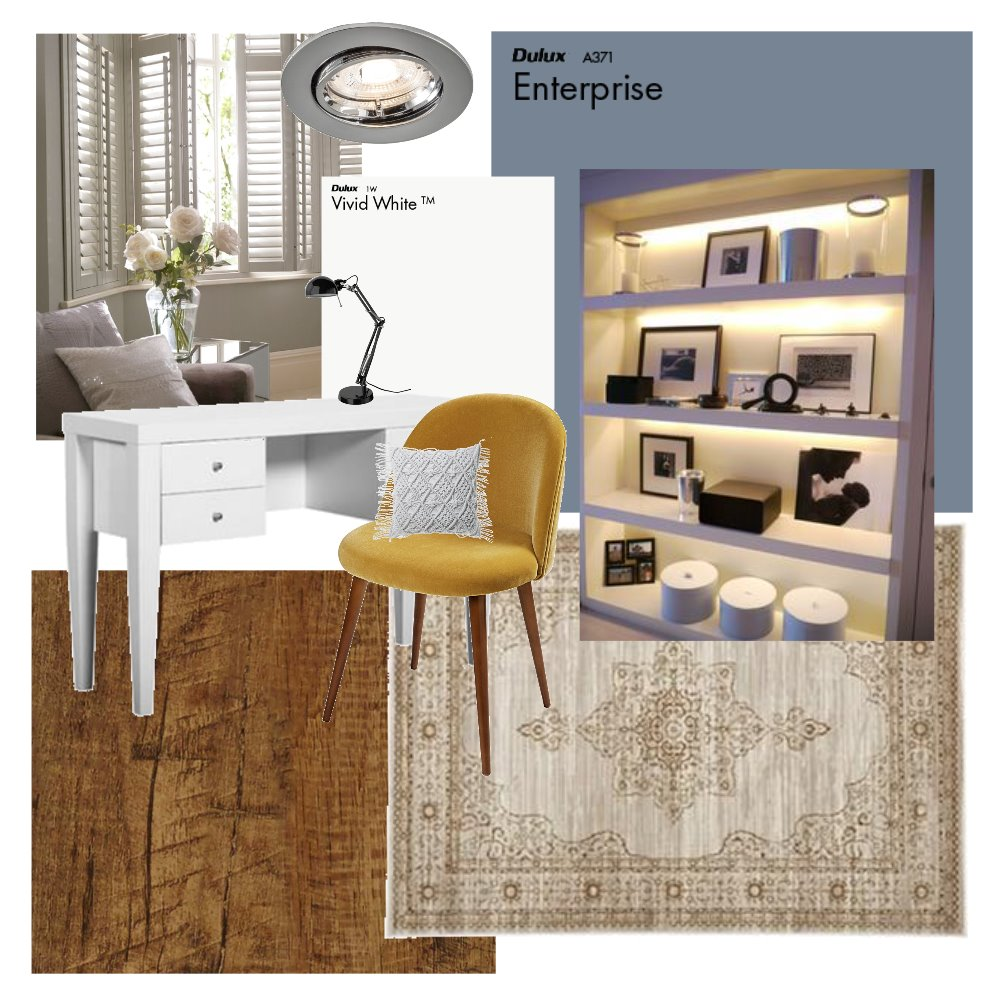 Study Interior Design Mood Board by abby_wilken on Style Sourcebook