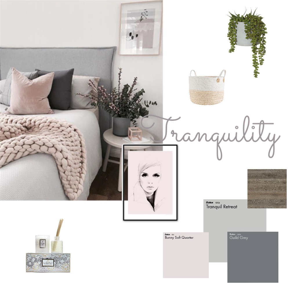 Bedroom Inspiration Mood Board by Myla Brandt on Style Sourcebook