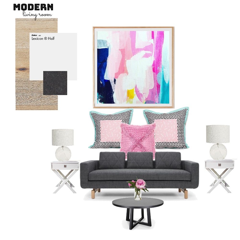 Modern living room Mood Board by Tiannamarie on Style Sourcebook
