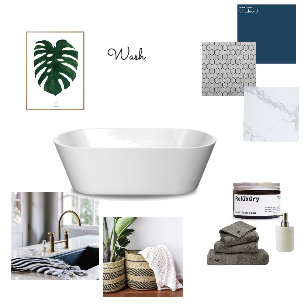Bathroom Inspo Mood Board by Myla Brandt on Style Sourcebook
