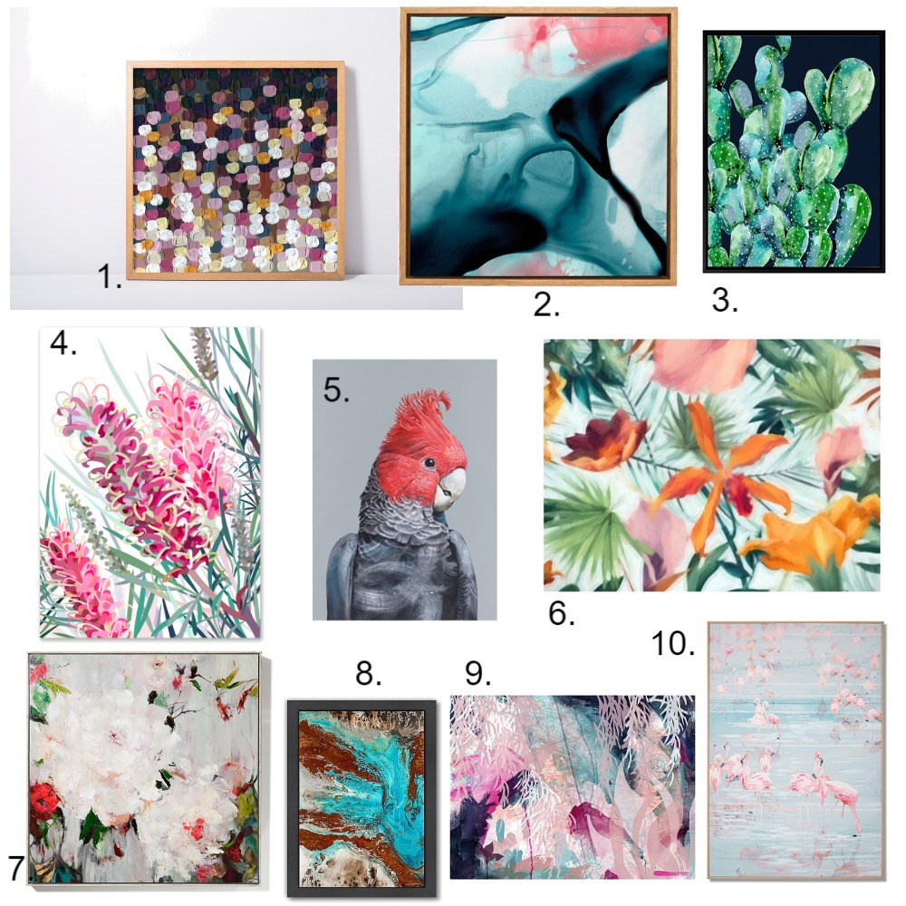 Top 10 Art Works For Under $300 Mood Board by Lupton Interior Design on Style Sourcebook