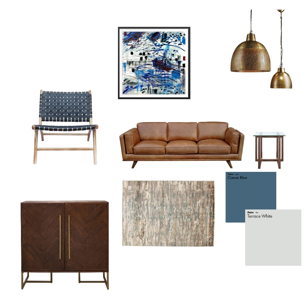 blues Mood Board by andrealucenaorr on Style Sourcebook