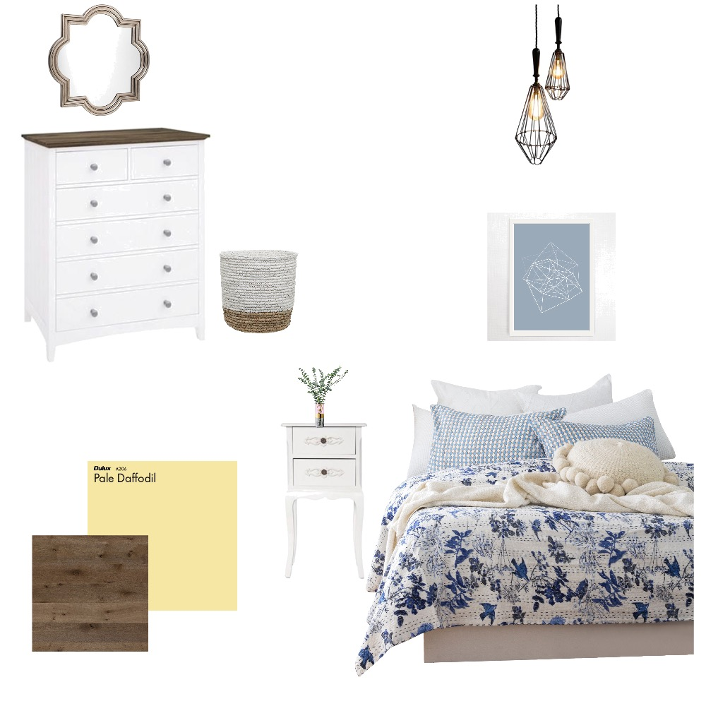 Cozy Bedroom Upgrades Interior Design Mood Board by Myla Brandt on Style Sourcebook