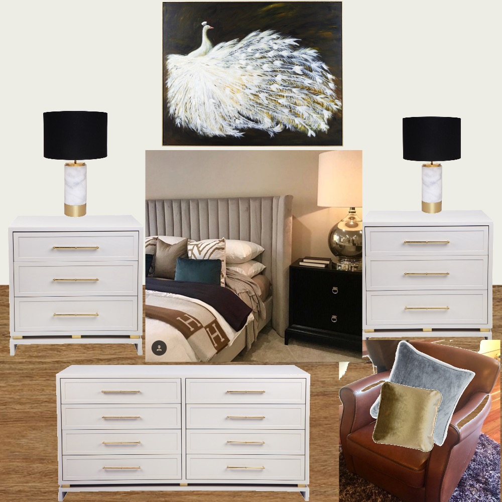 Canterbury - Master Bedroom v2 Mood Board by KMK Home and Living on Style Sourcebook
