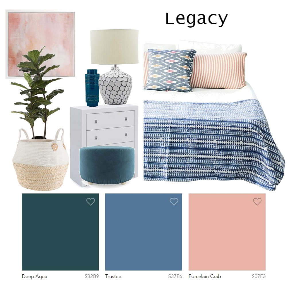 Legacy Dulux Colours 2019 Mood Board by Lupton Interior Design on Style Sourcebook