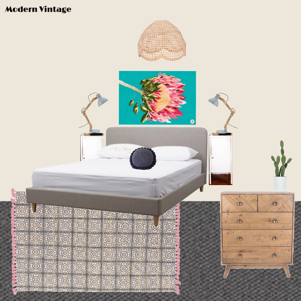 Modern Vintage Mood Board by Melissa Welsh on Style Sourcebook