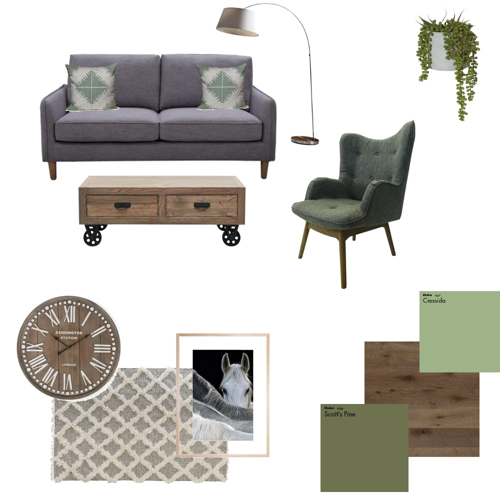Greys & Greens Mood Board by Myla Brandt on Style Sourcebook
