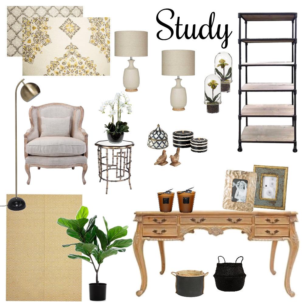 Study Interior Design Mood Board by Debbie Dirker on Style Sourcebook