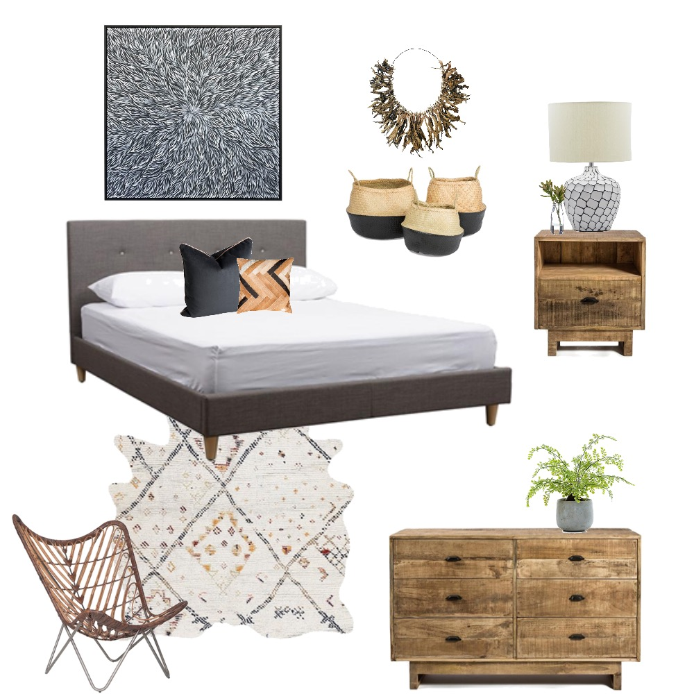 Boho Tribal Mood Board by Melhawley on Style Sourcebook