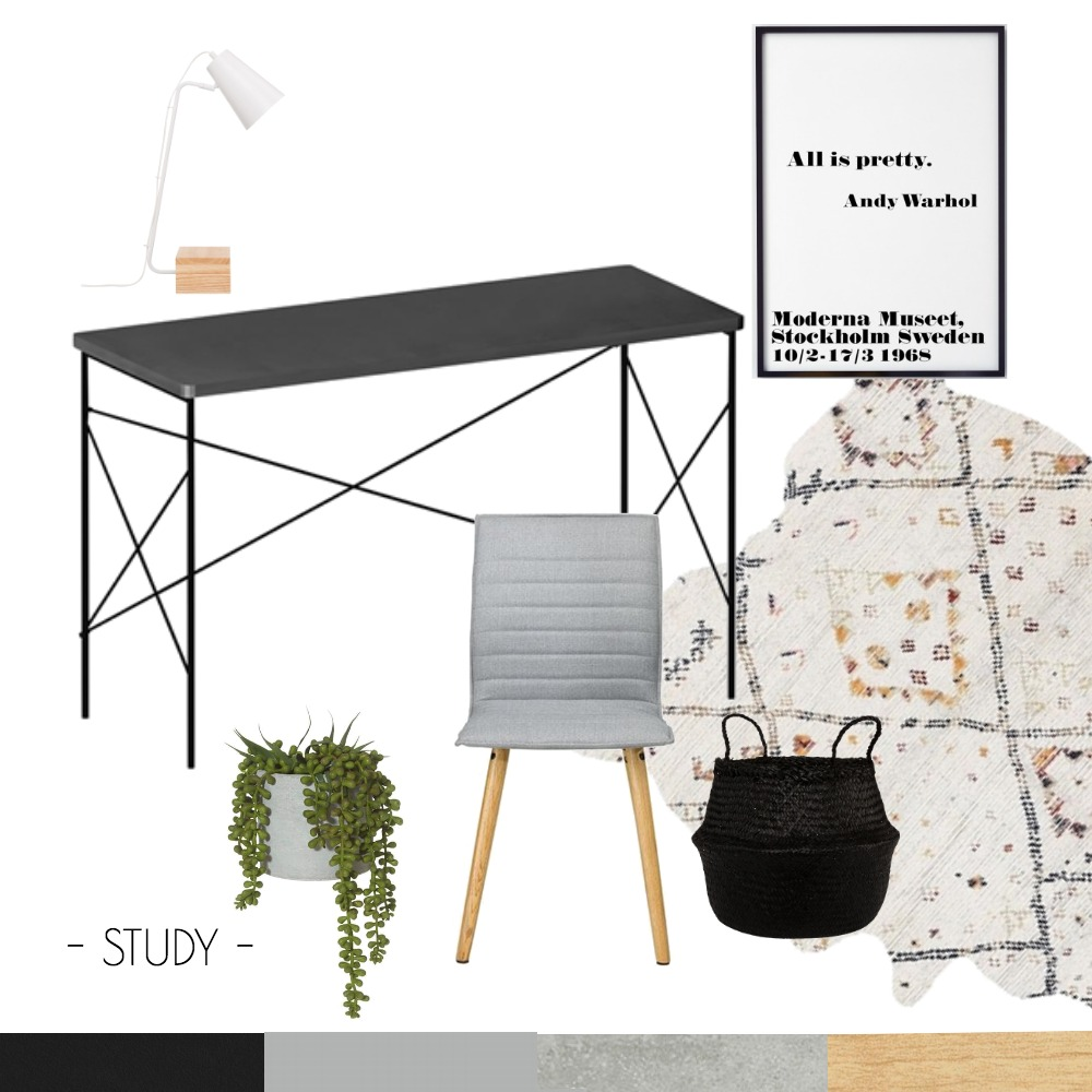 Study IDI Mood Board by The Style House on Style Sourcebook