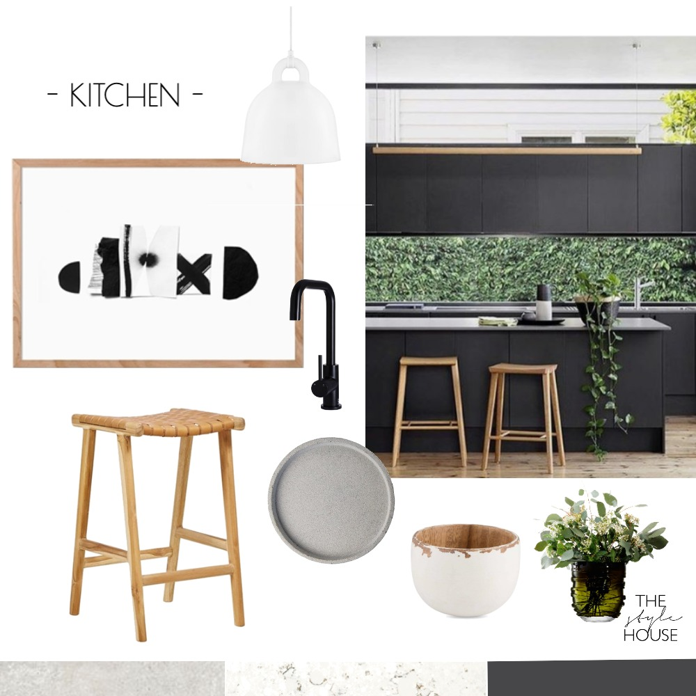 Kitchen IDI Mood Board by The Style House on Style Sourcebook