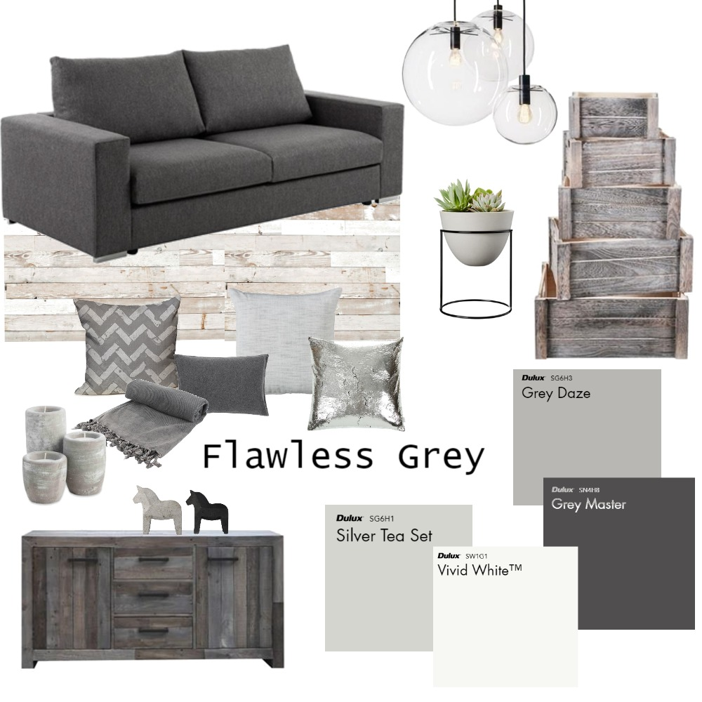 Achromatic Mood Board by iDesign Interiors on Style Sourcebook