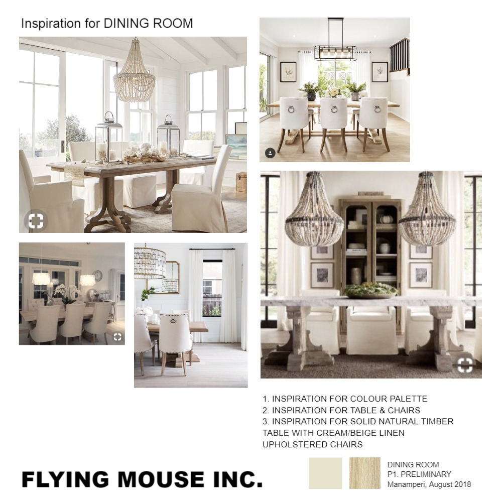 Inspiration for Dining room Mood Board by emmi_loulalay on Style Sourcebook