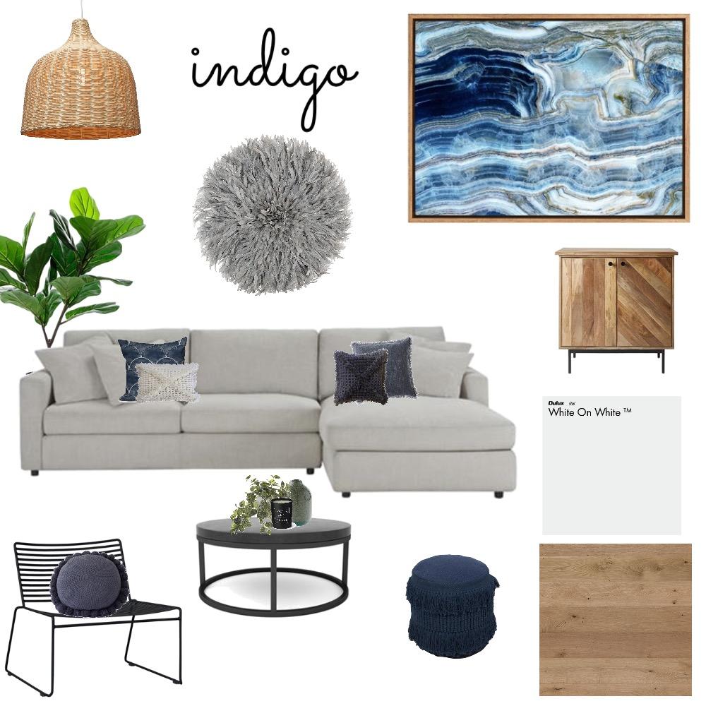 Indigo Blues Mood Board by AlexClaremont on Style Sourcebook