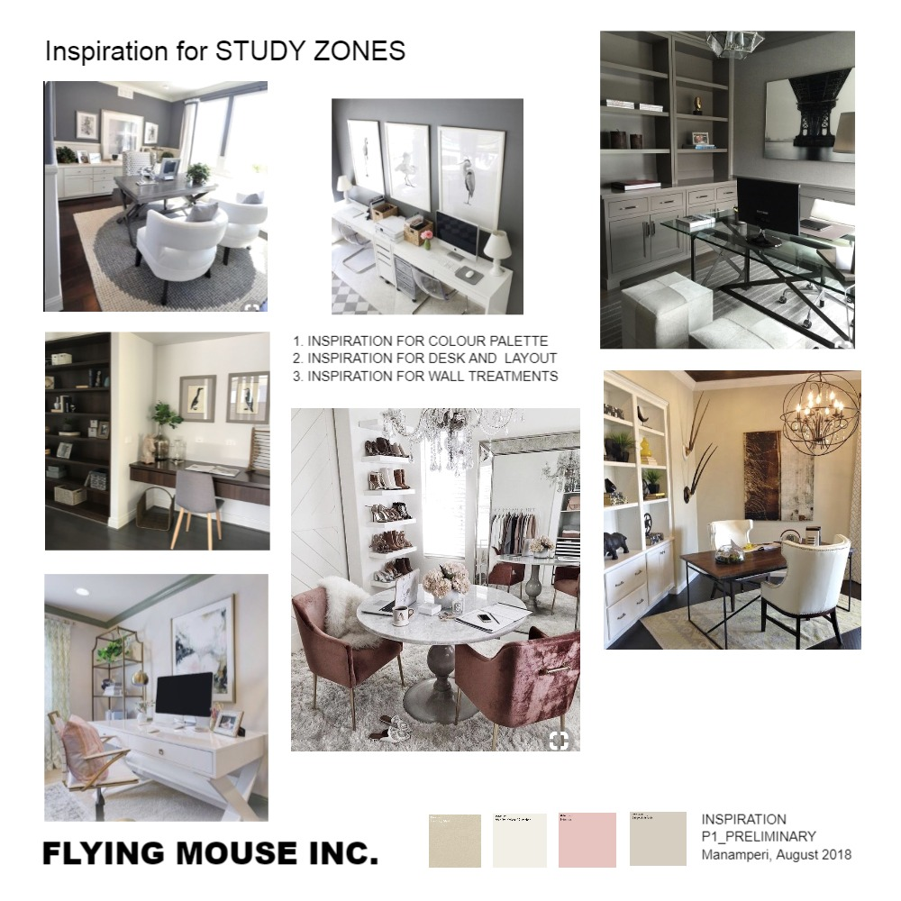 Inspiration for Study Zones Mood Board by emmi_loulalay on Style Sourcebook