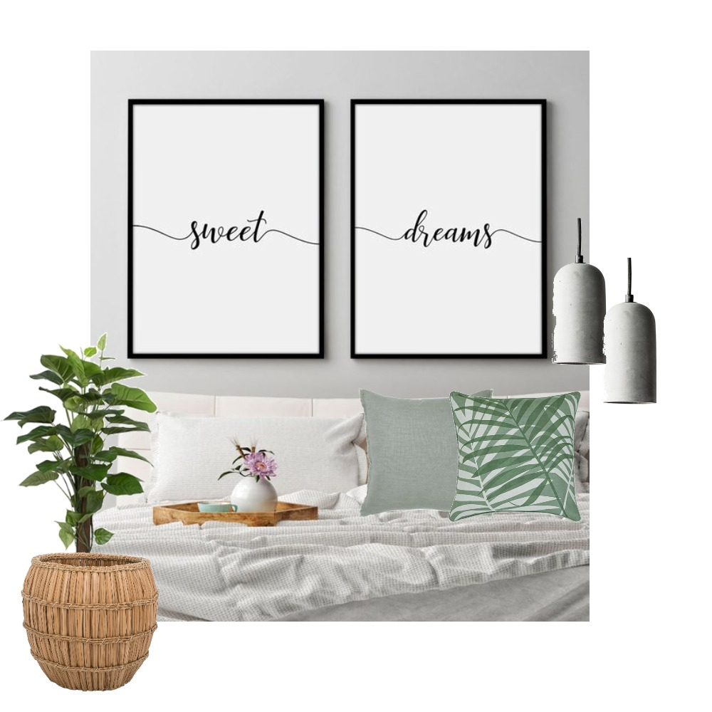 Scandi Bedroom Mood Board by Lupton Interior Design on Style Sourcebook