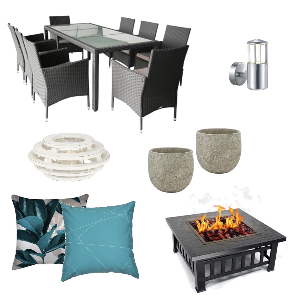 Outdoor living Interior Design Mood Board by 360 degrees interior design on Style Sourcebook