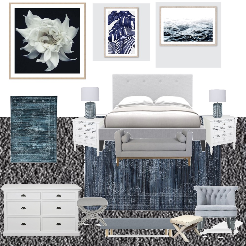 Master Bedroom Mood Board by CrystalLeigh on Style Sourcebook