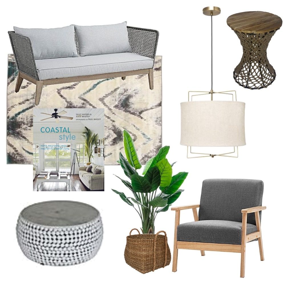 Coastal Living Room Mood Board by Lupton Interior Design on Style Sourcebook