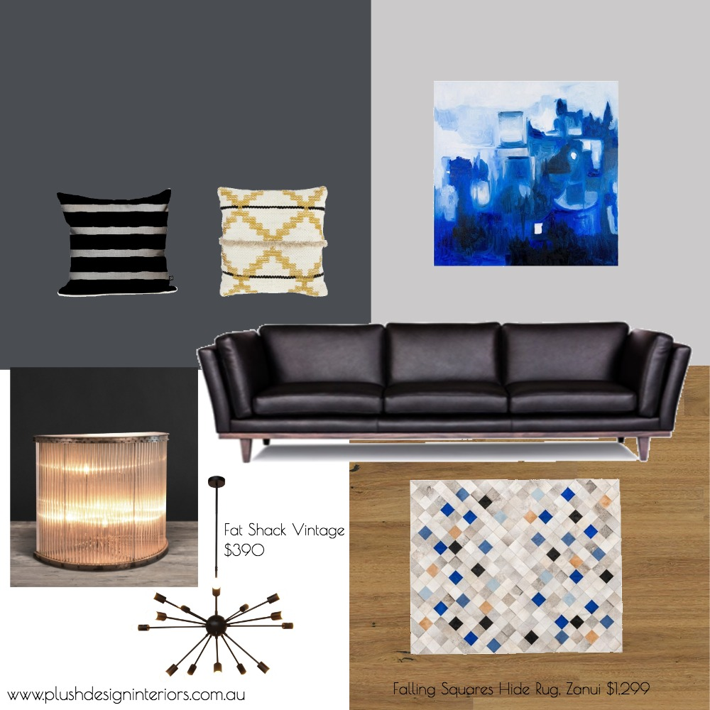 Con + Nicky - Living Room #3 casual Mood Board by Plush Design Interiors on Style Sourcebook