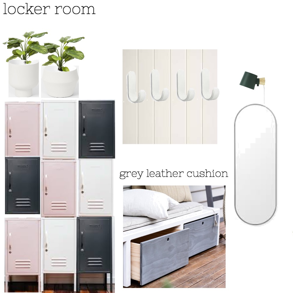 locker room Mood Board by The Secret Room on Style Sourcebook
