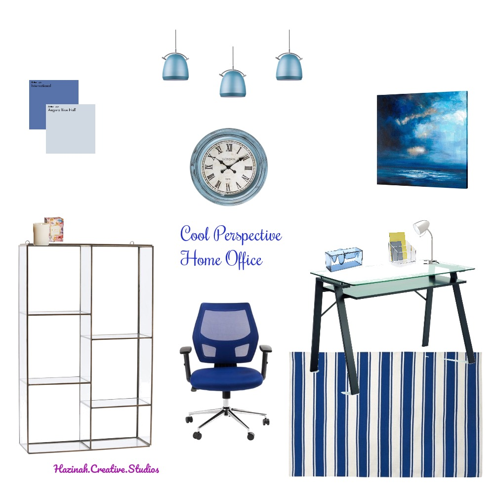 Cool Perspective Home Office Mood Board by Gugz on Style Sourcebook
